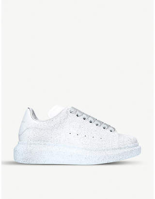 Alexander McQueen Spray-painted leather trainers