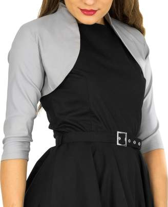 BlackButterfly Tailored 3/4 Sleeve Bolero (, US)