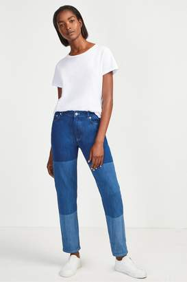French Connection Tri-Shade Boyfit Jeans