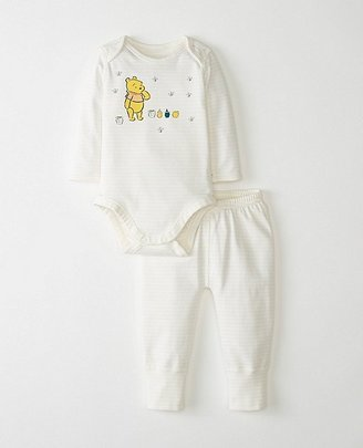 Disney Baby Winnie The Pooh Wiggle Set In Organic Cotton $45 thestylecure.com