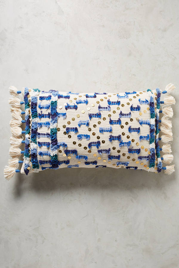 Anthropologie Anthropologie Textured Safira Pillow