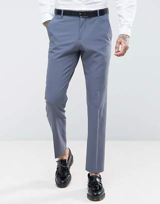 Selected Slim Wedding Suit Pants With Stretch