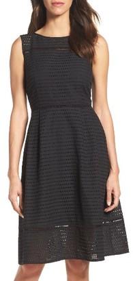Women's Ellen Tracy Cotton Midi Dress $128 thestylecure.com