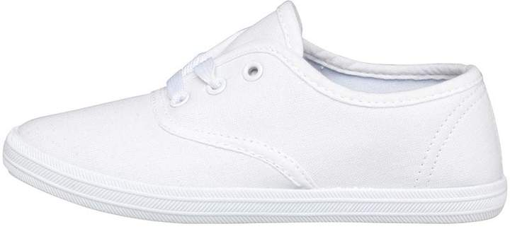 Mad Wax Infant Boys Canvas Shoes White
