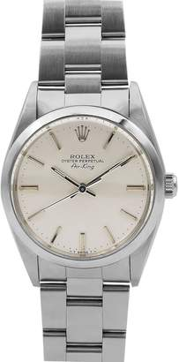 Rolex Pre-Owned Men's 34mm Air-King Bracelet Watch