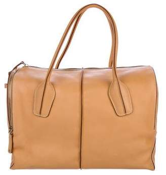 Tod's Large D-Styling Leather Satchel