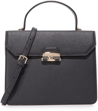 Furla Chiara Small Top Handle Bag $448 thestylecure.com