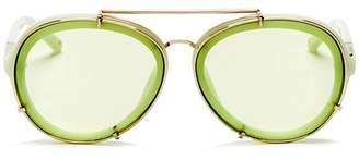 3.1 Phillip Lim Women's Aviator Sunglasses, 60mm
