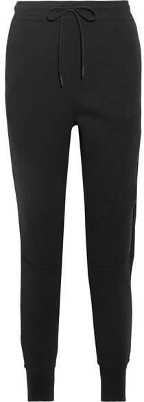 Nike - Tech Fleece Cotton-blend Track Pants - Black