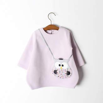 JJ Park Owl Handbag Pocket Tunic