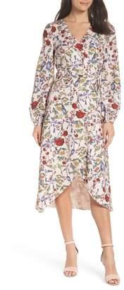 Chelsea28 Floral Wrap Dress