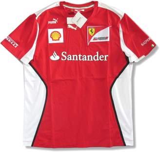 Ferrari Puma Santander Team Red Soccer Style T-Shirt