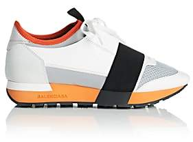 Balenciaga Women's Race Runner Sneakers - White