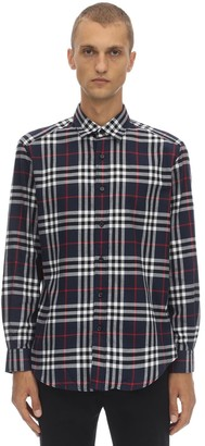 Burberry Regular Archive Check Cotton Shirt