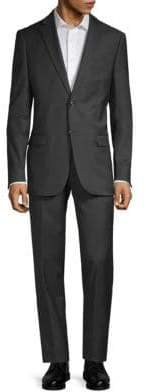 John Varvatos Slim-Fit Notch Wool Suit