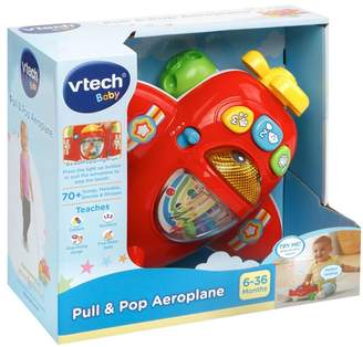 Vtech Pull And Pop Aeroplane Toy