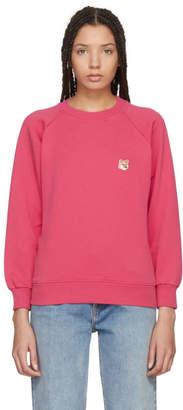 MAISON KITSUNÉ Red Fox Head Sweatshirt