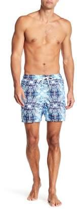 Jared Lang Jellyfish Print Swim Shorts