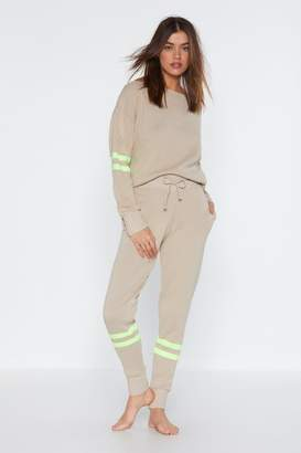 Nasty Gal Bright and Early Sweater and Jogger Pants Set
