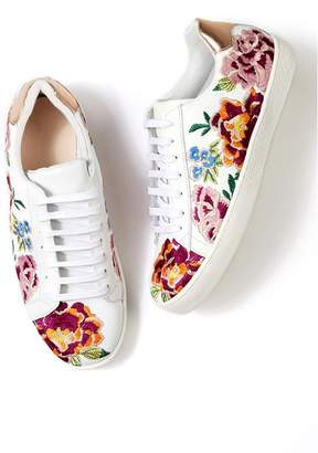 Johnny Was Dylanne Floral Sneaker