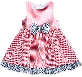 Marmellata Gingham Seersucker Dress, Baby Girls (0-24 months) $36 thestylecure.com