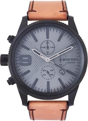 Diesel DZ4468 Black & Tan Rasp Chrono 50 Watch