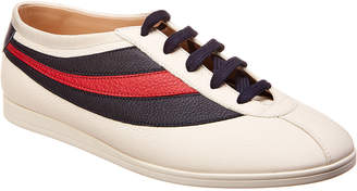 Gucci Falacer Web Leather Sneaker