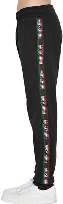 Moschino Italy Logo Band Cotton Sweatpants