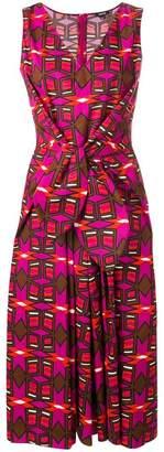 Aspesi printed knot dress