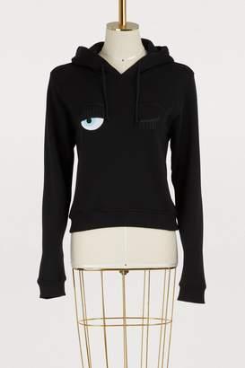 Chiara Ferragni Flirting cotton hoodie