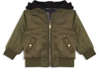 Bardot Junior Boys' Satin Tiger Bomber Jacket - Baby