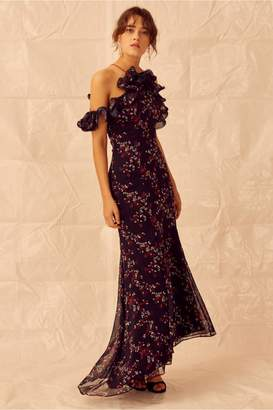 Keepsake EMBRACE GOWN navy floral