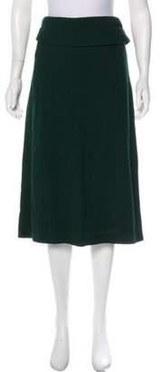 Dries Van Noten Textured Midi Skirt