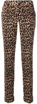 P.A.R.O.S.H. leopard print skinny trousers