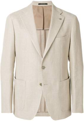 Tagliatore slim-fit button up blazer