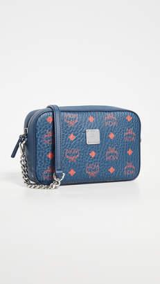MCM Visetos Original Small Crossbody Bag