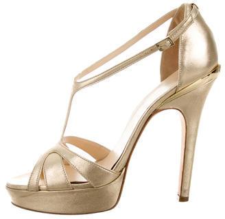 VersaceVersace Metallic Platform Sandals