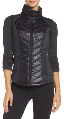 Women's Zella Zelfusion Water Repellent Vest $99 thestylecure.com
