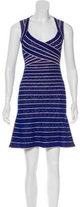 Herve Leger Kamron Sleeveless Dress