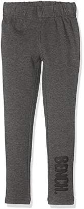 Bench Girl's Logo Leggings,(Manufacturer Size: 9-10)