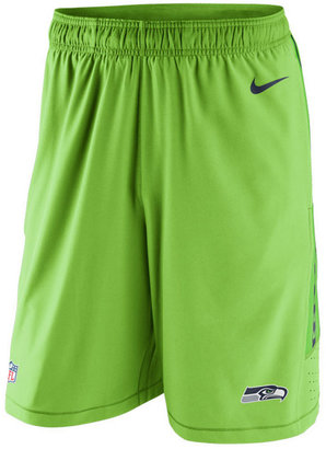 Nike Men's Seattle Seahawks Speed Vent Shorts $75 thestylecure.com