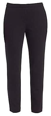Theory Women's Thaniel Ponte Slim-Flit Crop Pants