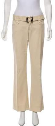 Gucci Belted Wide-Leg Pants Beige Belted Wide-Leg Pants