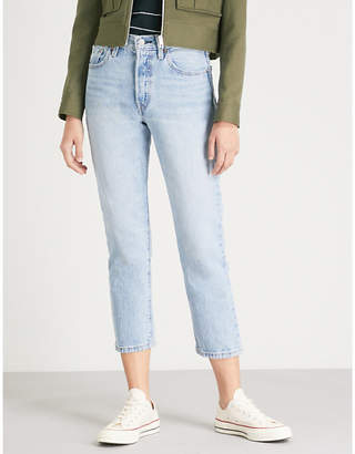 Levi's Cropped 501 denim jeans