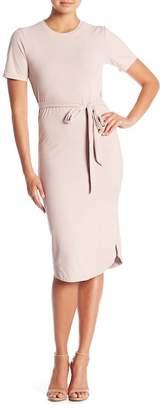 MinkPink Ribbed Tee Dress
