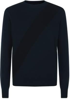 Stella McCartney Diagonal Stripe Detail Sweater