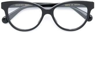 Gucci cat-eye frame glasses