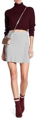 BCBGeneration Mini Wrap Skirt
