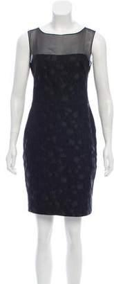Elie Saab Sleeveless Mini Dress