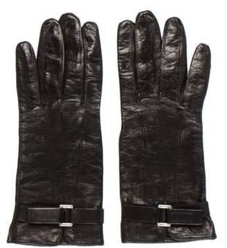 Prada Lambskin Leather Gloves